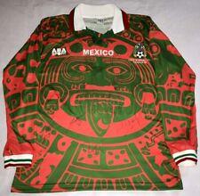 RARE 1998 WC Mexico National Team signed autographed Alt jersey Campos Blanco