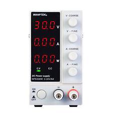 Dc Power Supply Max 30v6a Adjustable For Nps306w 3 Digital Variable Ltused Usa