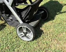 2 REAR WHEELS & AXLE/BRAKE ASSEMBLY from Joovy Sit N Stand Stroller