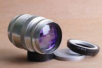 ⭐ Jupiter ⭐ JUPITER-9 85mm f2 USSR sonnar lens M39 + Adapter Micro 4/3 Mount