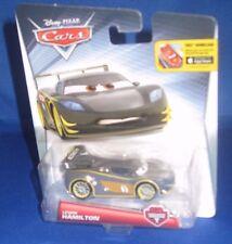 DISNEY PIXAR CARS LEWIS HAMILTON CARBON RACERS COLLECTOR CAR, NFRP