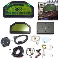 Auto Car Dash Race Display Dashboard LCD Screen Multi-function Gauge Sensor Kit