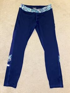Funkita Meshed Up 7/8th Blue Fitness Gym Tights - Size 10 BNWOT