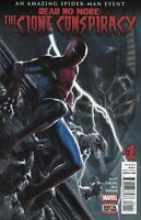 Spider-Man Comic Issue 1 Dead No More Clone Conspiracy 2016 Slott Cheung Dell