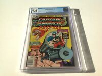 CAPTAIN AMERICA 198 CGC 9.6 WHITE PGS FALCON MADBOMB COOL COVER MARVEL COMICS