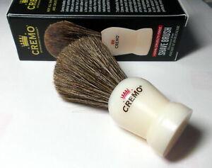 CREMO 100% Cruelty-Free Shave Brush, Handmade From Premium Horsehair - NEW
