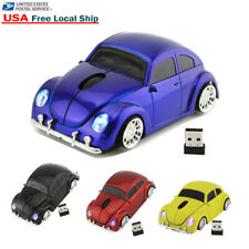 2.4Ghz Wireless VW Beetle Classic car Mouse optical PC Laptop Mice +USB Receiver