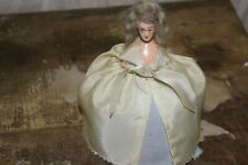 "Antique Half Doll Pincushion Beautiful Lady 6"" Chalkware Body Lovely"