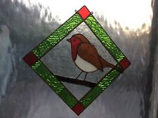 Stained glass tools Robin Red Breast pre-cut reusable pattern