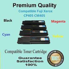4 x CP405 CM405 1 set B/C/M/Y Compatible for FUJI Xerox DOCUPRINT CP405D CM405DF