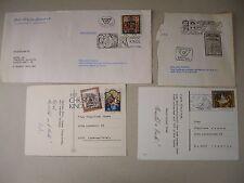 Sonderstempel - 4411 Christkindl Post - 4 verschiedene Briefmarken - Österreich