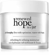 Renewed Hope in a Jar, Philosophy, 2 oz