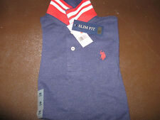 US Polo Assn Short Sleeve Shirt. Size XS Slim Fit Blue 11694488 NWT!! $42.