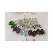 Wholesale Bulk Lot 12 Mixed Glass Bead & Tibetan Silver Dangle Earrings Jewelry