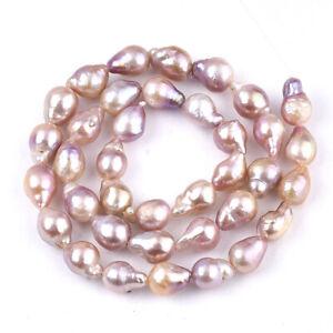 36~40pcs/Strd Teardrop Natural Baroque Pearl Keshi Pearl Beads Spacer 10~11mm