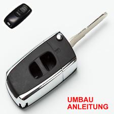 Mazda Demio Funkfernbedienung JOM Fernbedienung Klappschlüssel+Rohlinge ##27