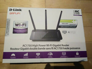 d-link router ac 1750, dual band high power wi-fi router