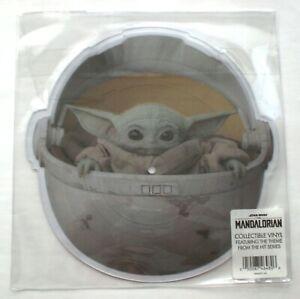 "STAR WARS The Mandalorian 10"" Shape Picture Vinyl OST Ludwig Göransson LP CHILD"