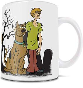 Scooby-Doo, Birthday, Christmas Gift, White Mug Funny Coffee Cup Gift Men Women