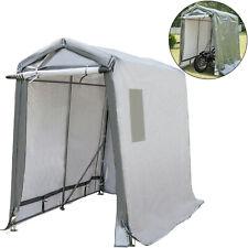 Portable Storage Shed, Portable Garage Shelter, 6x10x7.8 ft Storage Shelter Grey