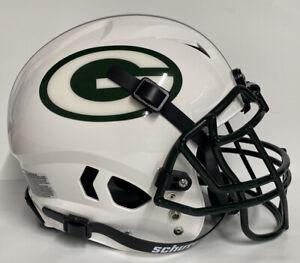 Green Bay Packers Custom Full Size Authentic Schutt Vengeance Football Helmet !!