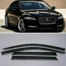 For Jaguar XF Sedan Window Visors Sun Rain Guard Vent Deflectors 2008 - 2015