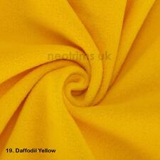 Polar Fleece Anti Pill Fabric Material,Apparel,Garments,Blankets,Washable,27Cols