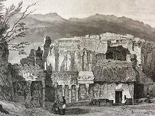 Inde Ellorâ Elapurâ temple de Kailâsanâtha Kailash Chalukya Hindouisme Vishnu