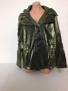 Hilary Radley Khaki (Green) Fashion Jacket Size 0X