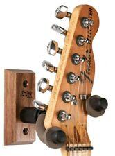String Swing  Wall Mount Guitar Hanger - CC01-BW Black Walnut Hardwood USA Made