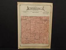 Iowa  Marshall County Map Washington Township  c1920   W8#40