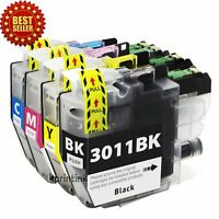 4PK LC3011 LC-3011 Ink Cartridge for Brother MFC-J491DW MFC-J497DW/J690DW/J8950D