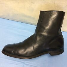 SUPREME Vintage Foot-So-Port Black Leather Ankle Chukka Boots (11 C)