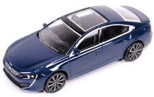 """Peugeot 508 3"""" Model Car New Genuine 18MITR901 BLUE"""