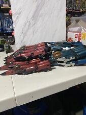 Transformers G1 Decepticon Seeker Jet Body Lot Of 21 Thrust Dirge Thundercracker