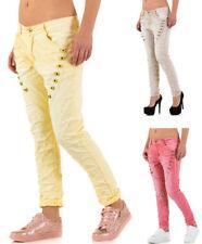 Coloured Damen-Jeans Boyfriend Normalgröße -