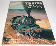 Trains Around the World by O.C. London (1973, Hardcover dust jacket )