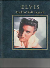 ELVIS PRESLEY ROCK 'N' ROLL LEGEND HARD COVER BOOK BY SUSAN DOLL PRISCILLA LISA