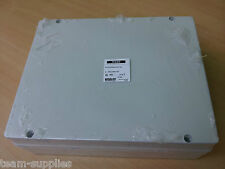 LARGE WATERPROOF OUTDOOR JUNCTION BOX IP56 WEATHERPROOF ENCLOSURE 380x300x120mm