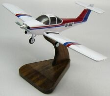 Tomahawk PA-38-112 Piper PA38 Private Airplane Mahogany Wood Model Small New