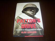 PATTON'S DRIVE General George S. World War II Armor WWII Tanks Tank Book NEW