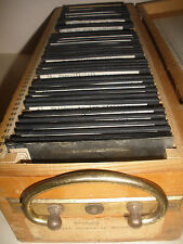 38 pc Rare Antique 1936 Winter Olympics Germany glass slides skiing ski jumping