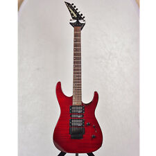 Jackson Performer Series Electric Guitar (Transparent Red) with hard case