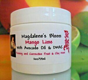 Magdalene's Bloom Mango Lime DMAE Skin Firming Acne Blemish  Anti-Aging Mask
