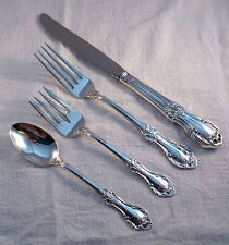 Wild Rose-International Sterling 4-PC Dinner Size Place Setting
