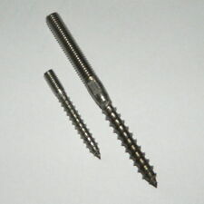 Stockschrauben A2 Edelstahl  M6/M8/M10 versch. Längen  V2A  für Holz