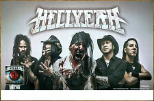 HELLYEAH Unden!able 2016 Ltd Ed RARE Poster +FREE Metal Rock Poster! Undeniable