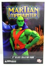 """DC Direct 13"""" Deluxe Collector Edition Martian Manhunter Justice League 1:6 MISB"""