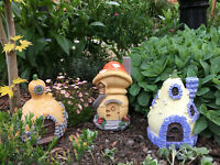 17cm Ornamental Fairy House / Cottages - Perfect for a Miniature Garden Village
