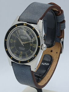 V.RARE STAINLESS STEEL DIVER`S BLANCPAIN FIFTY 50 FATHOMS ROTOMATIC INCABLOC